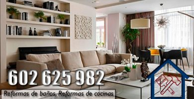 Reformas en Arganzuela Madrid